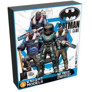 Batman Miniature Game 2nd Edition - Mr.Freeze - Starter Set