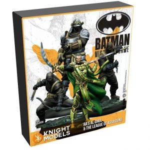 Batman Miniature Game 2nd Edition - Ra's al Ghul & Assassins - Starter Set