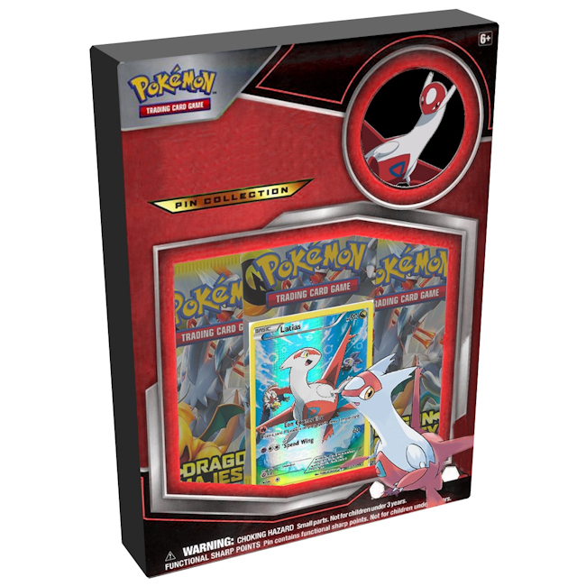 Pokemon Dragon Majesty Latias Pin Collection