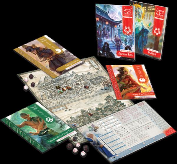 Legend of the Five Rings RPG – Beginner Game