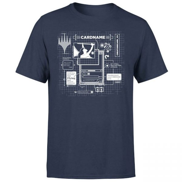 Magic the Gathering – T-Shirt – Card Grid