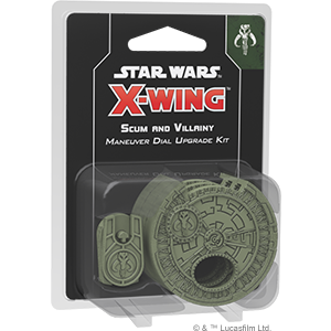 X-Wing Second Edition - Scum and Villainy Maneuver Dial