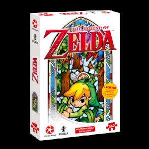 Legend of Zelda Puzzle - Link Boomerang - 360pc