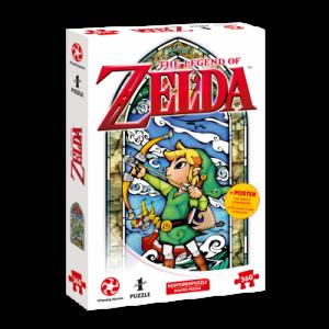 Legend of Zelda Puzzle - Link Hero's Bow - 360pc