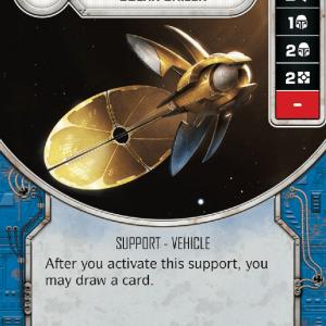 Count Dooku's Solar Sailer - MINT + DIE