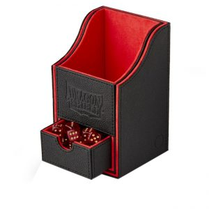 Dragon Shield Nest Box 100+  Black/Red