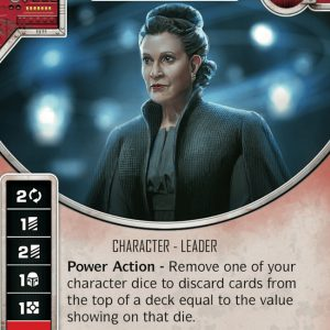 Leia Organa - Heart of the Resistance - Way of the Force - MINT + DIE