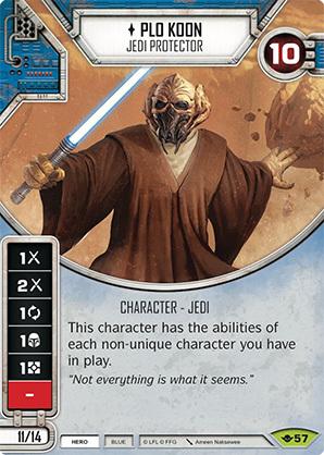 Plo Koon - Jedi Protector - MINT + DIE