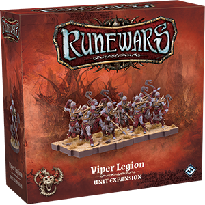 Runewars - Viper Legion - Unit Expansion