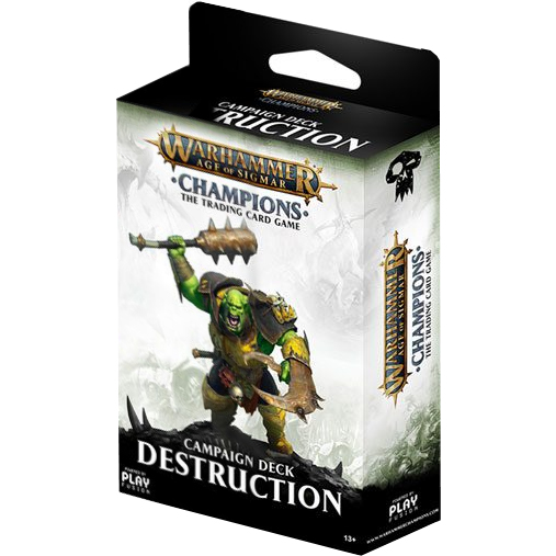Warhammer Age of Sigmar: Champions - Wave 1 - Campaign Decks - Death