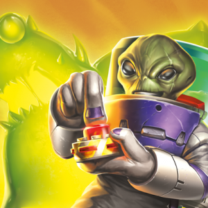 KeyForge - Martian Madness - Gamemat