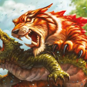 KeyForge - Mighty Tiger - Gamemat