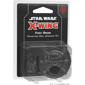 Star Wars X-wing - First Order Maneuver Dial Upgrade