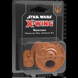 Star Wars X-wing - Resistance Maneuver Dial Upgrade