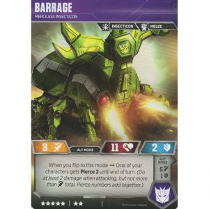 Barrage – Merciless Insecticon