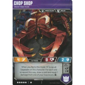 Chop Shop – Sneaky Insecticon