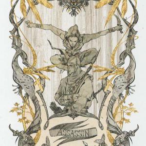 Token Card - Assassin - Johannes Voss