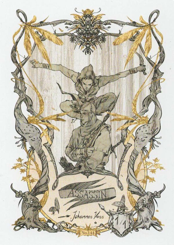 Token Card – Assassin – Johannes Voss