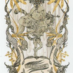 Token Card - Cat Soldier - Johannes Voss