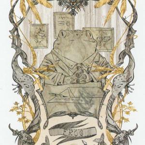 Token Card - Frog - Johannes Voss