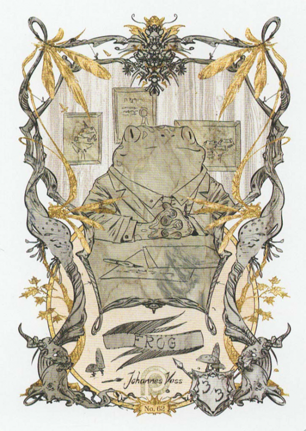 Token Card – Frog – Johannes Voss