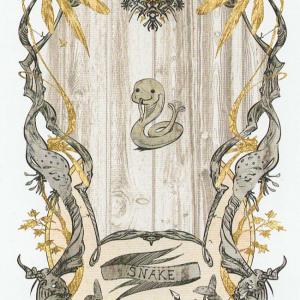 Token Card - Snake - Johannes Voss