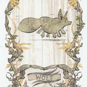 Token Card – Wolf – Johannes Voss