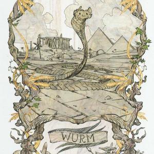Token Card - Wurm - Johannes Voss