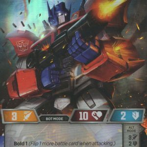 Optimus Prime – Autobot Leader
