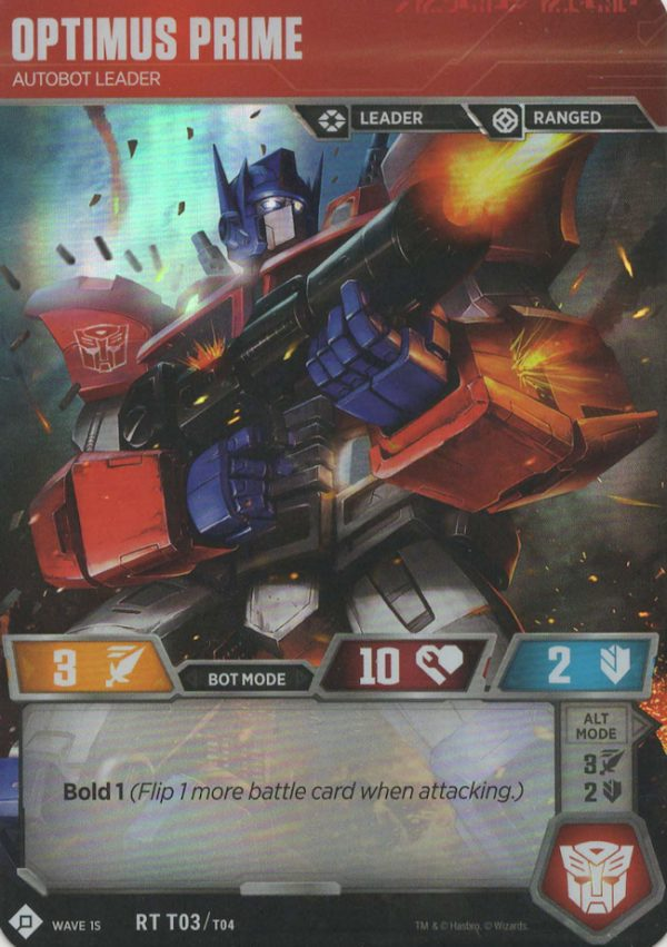 Optimus Prime – Autobot Leader