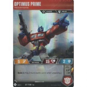 Optimus Prime – Freedom Fighter
