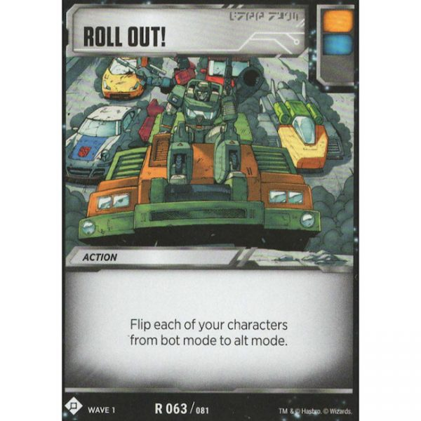 Roll Out!