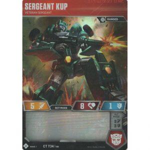 Sergeant Kup – Veteran Sergeant