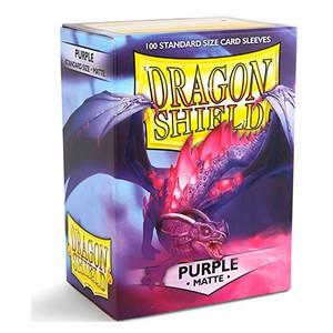 SLEEVES Dragon Shield - Matte - Purple