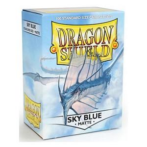 SLEEVES Dragon Shield - Matte - Sky Blue