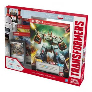 Transformers Trading Card Game – Metroplex Deck