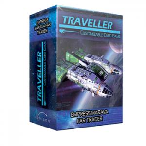 Traveller CCG - Empress Marava Far Trader - Ship Deck