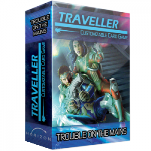 Traveller CCG - Trouble on the Mains - Expansion Set