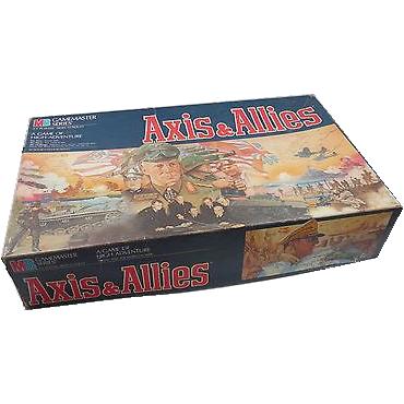 Axis and Allies – Milton Bradley – 1997 Edition