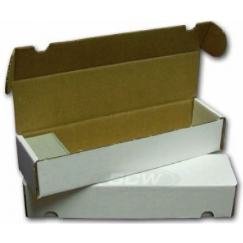 Storage box for 1000 cards