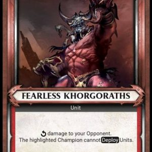 Fearless Khorgoraths – Unclaimed