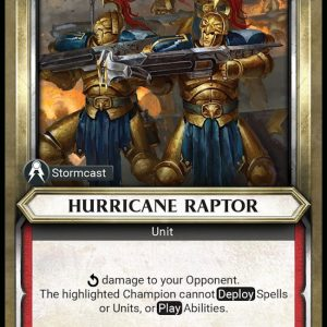 Hurricane Raptor – Unclaimed