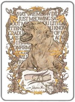 Token Card - Cat - Johannes Voss
