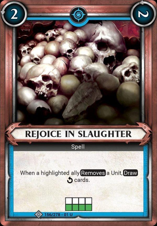 Rejoice in Slaughter