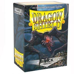 SLEEVES Dragon Shield – Matte – Black
