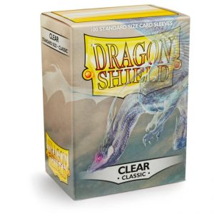 SLEEVES Dragon Shield – Classic – Clear