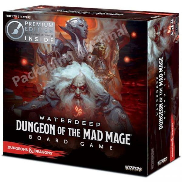 Dungeons & Dragons – Waterdeep – Dungeon of the Mad Mage – Premium Edition
