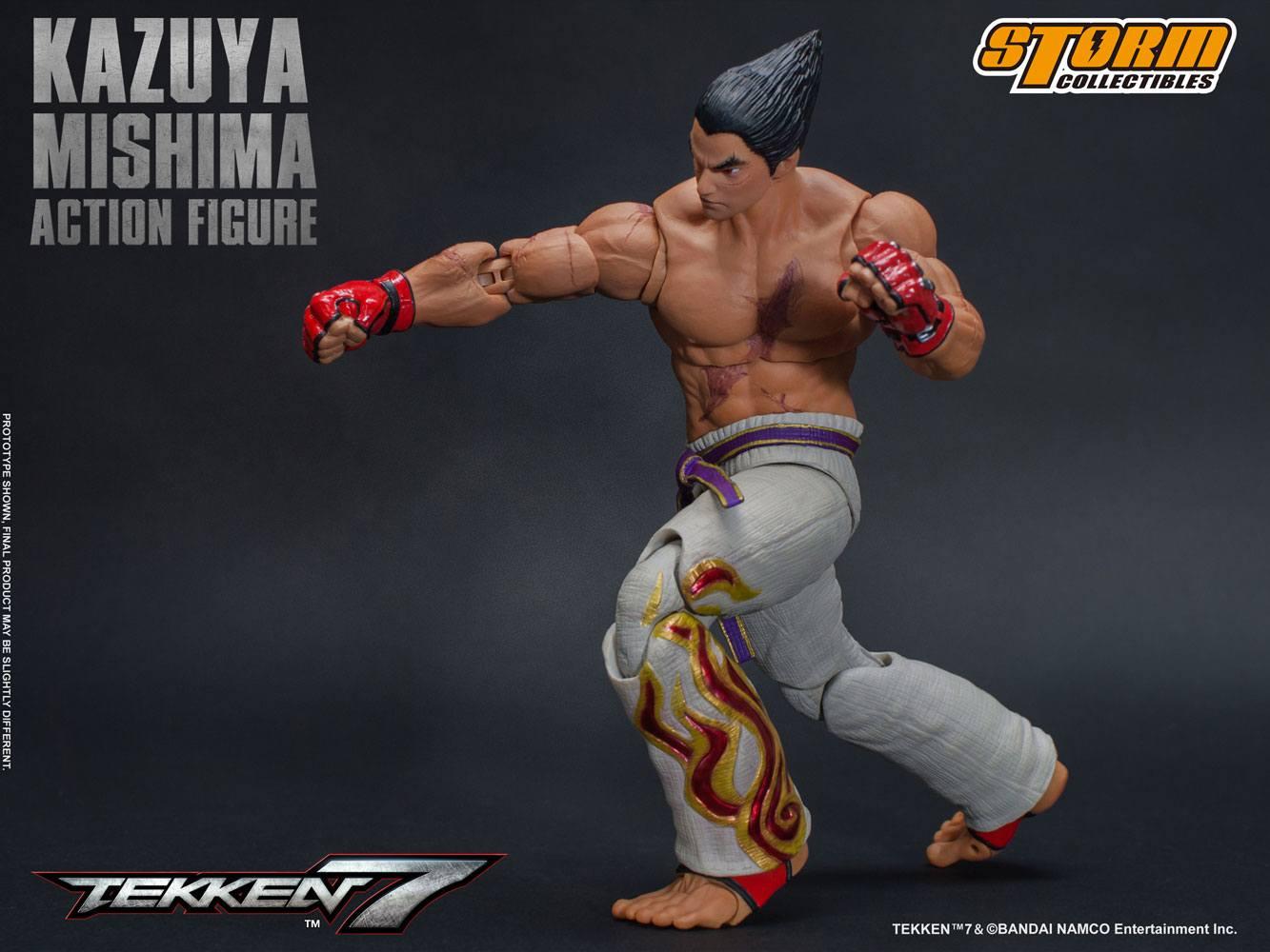 Storm Collectibles Tekken 7 Kazuya Mishima 1 12 Scale Action Figure