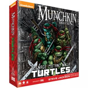 Munchkin – Teenage Mutant Ninja Turtles – Deluxe