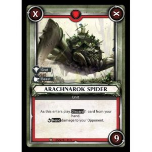 Arachnarok Spider (Unclaimed)
